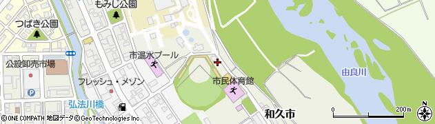 京都府福知山市和久市周辺の地図