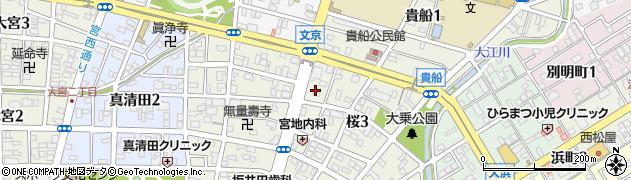 アネックス周辺の地図