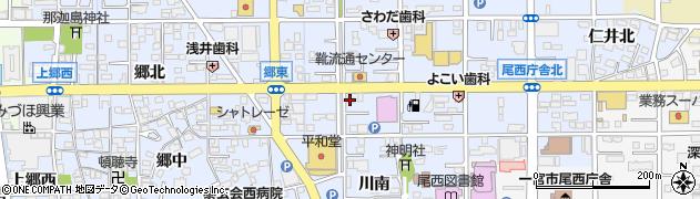 珈琲館 蔵羅周辺の地図