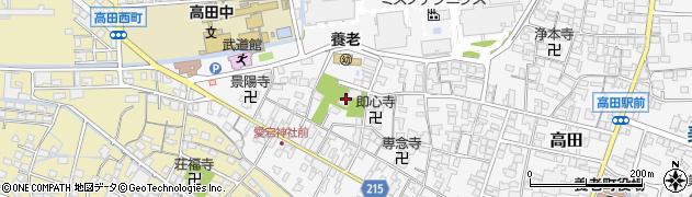 田代神社周辺の地図