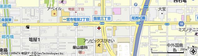 Dolce・Ichinomiya周辺の地図