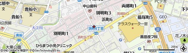 ファニーフェイス周辺の地図