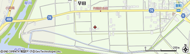 京都府綾部市栗町(丈府)周辺の地図