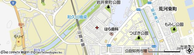 京都府福知山市岩井東町周辺の地図