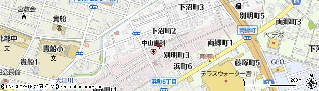 かに屋周辺の地図