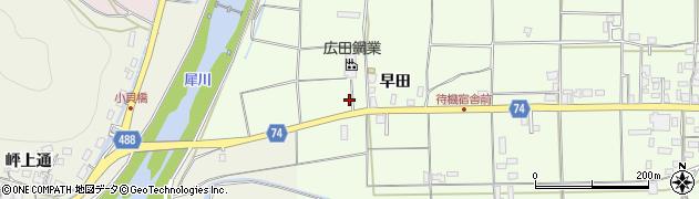 京都府綾部市栗町(小崎)周辺の地図