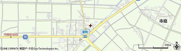 京都府綾部市栗町(貝尻)周辺の地図
