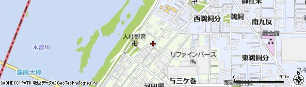 愛知県一宮市起(本陣山番外)周辺の地図
