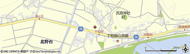 京都府綾部市位田町(寺町)周辺の地図
