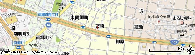 愛知県一宮市大赤見(才勝)周辺の地図