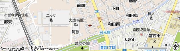 愛知県一宮市今伊勢町本神戸(河原)周辺の地図