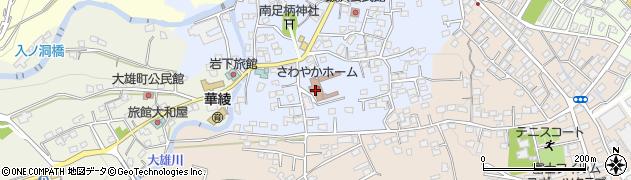 富士フイルム足柄山荘周辺の地図