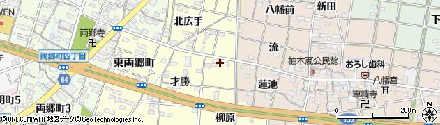 愛知県一宮市大赤見(柳原)周辺の地図