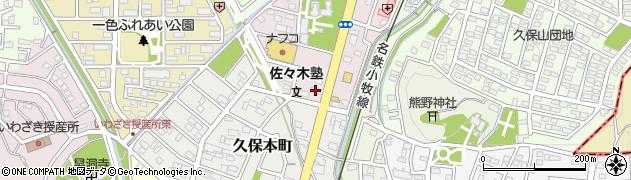 李瑞夢周辺の地図