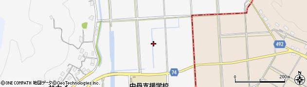 京都府福知山市私市(五反田)周辺の地図