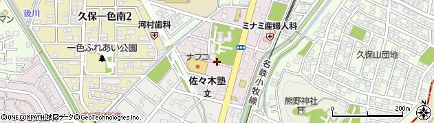 愛知県小牧市田県町周辺の地図
