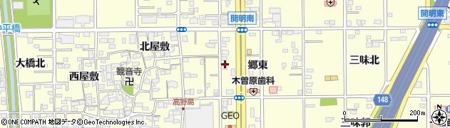 ラウンジMAKI周辺の地図