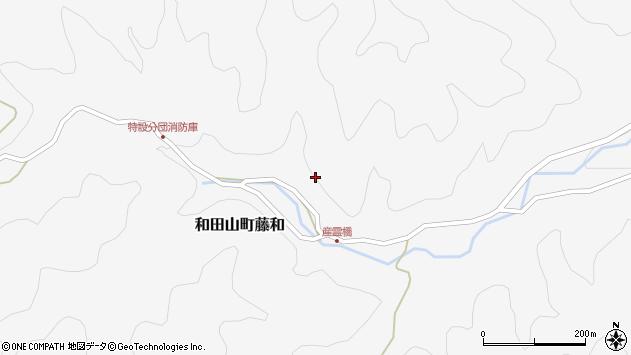 〒669-5257 兵庫県朝来市和田山町藤和の地図