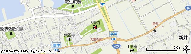大乘寺周辺の地図