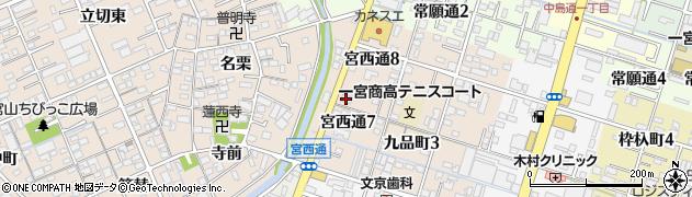 株式会社ショクブン岐阜支社一宮営業所周辺の地図
