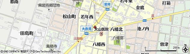 かぎや周辺の地図