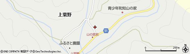 京都府京丹波町(船井郡)上粟野(東畑)周辺の地図