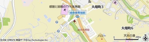 岐阜県多治見市大畑町周辺の地図
