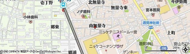 愛知県一宮市今伊勢町本神戸(南無量寺)周辺の地図