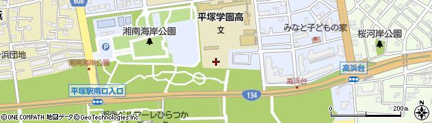 神奈川県平塚市高浜台周辺の地図