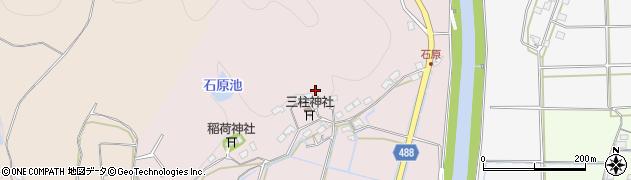 京都府綾部市石原町周辺の地図