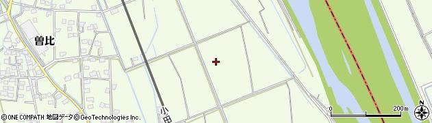 神奈川県小田原市曽比周辺の地図
