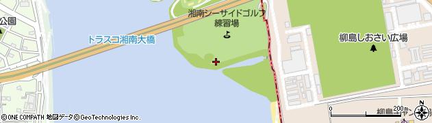 神奈川県平塚市須賀周辺の地図