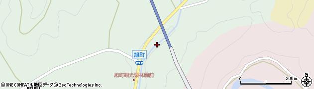 京都府綾部市旭町(土仏)周辺の地図