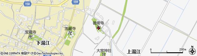 徳常寺周辺の地図