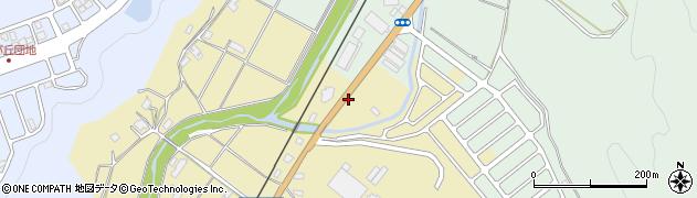 京都府綾部市下八田町(大坪)周辺の地図