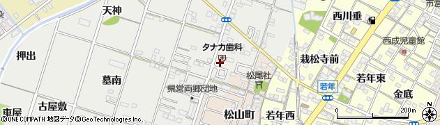 愛知県一宮市丹羽(虚空蔵)周辺の地図