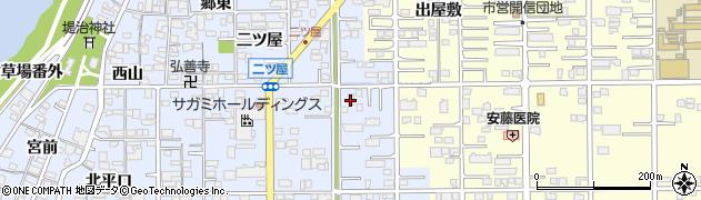 愛知県一宮市小信中島(萱場)周辺の地図