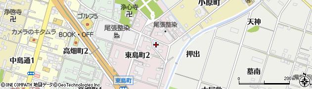 愛知県一宮市一宮(石坪)周辺の地図