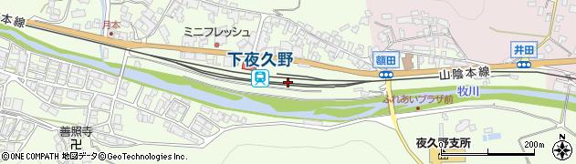 京都府福知山市周辺の地図
