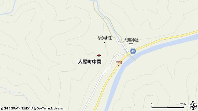 〒667-0325 兵庫県養父市大屋町栗ノ下の地図