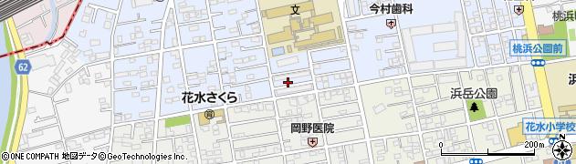 桃山コーポ周辺の地図