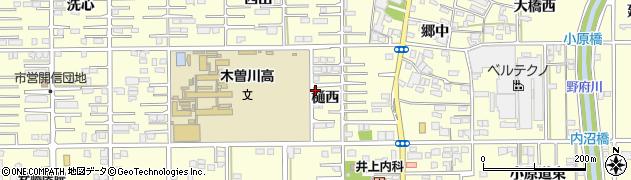 愛知県一宮市開明(樋西)周辺の地図