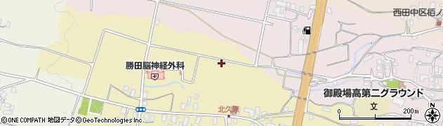 静岡県御殿場市北久原周辺の地図