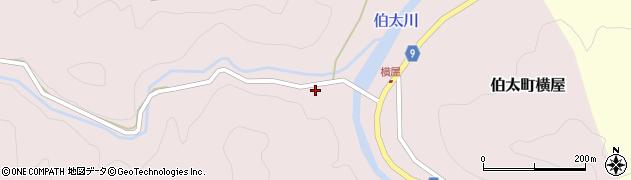 比婆山久米神社周辺の地図
