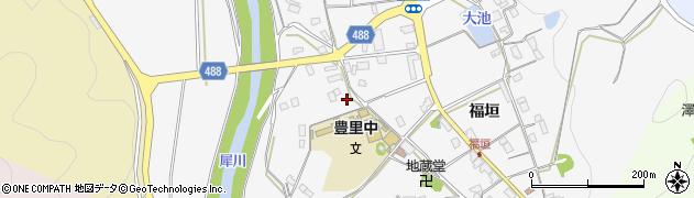 京都府綾部市豊里町(三宅)周辺の地図