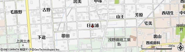 愛知県一宮市時之島(日吉浦)周辺の地図