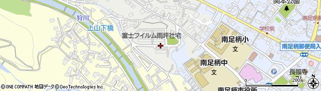 富士フイルム雨坪社宅周辺の地図