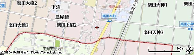 愛知県犬山市鳥屋越周辺の地図