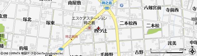 愛知県一宮市時之島(四ツ辻)周辺の地図