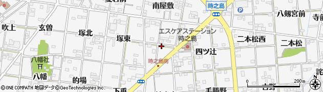 愛知県一宮市時之島(丸先)周辺の地図